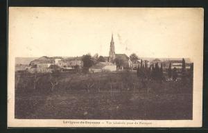 AK Lèvignac-de-Guyenne, Vue Gènèrale prise du Fourquet