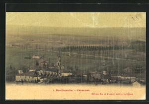 AK Bon-Encontre, Panorama aus der Vogelschau