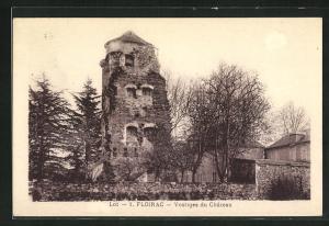 AK Floirac, Vestiges du Chateau