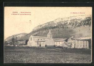 AK Lèoncel, Èglise Abbatiale et Ruines de l`ancien Monastere