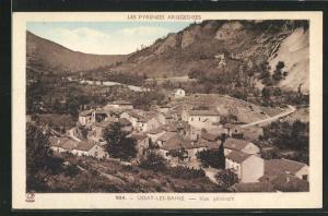 AK Ussat-les-Bains, Vue gènèrale