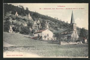 AK Renaude, Èglise et Chemin de Croix