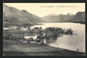 AK Talloires, village avec Lac d`Annecy