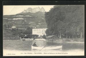 AK Talloires, Hôtel de l`Abbaye et les Dents de Lanfont