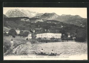 AK Talloires, Hôtel de l`Abbaye et la Tournette