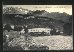 AK Talloires, Hôtel de l`Abbaye et la Tournette, lac d`Annecy