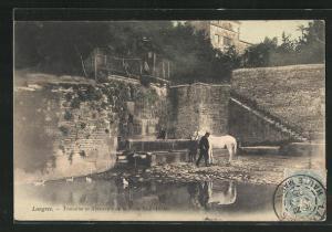 AK Langres, Fontaine et Abreuvoir de la Porte Saint-Didier