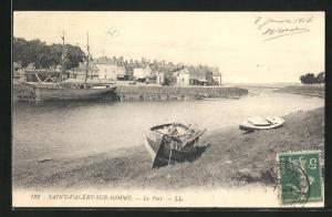 AK Saint-Valery-sur-Somme, le Port