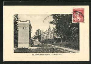 AK Villeneuve-Saint-Georges, L`Hotel de Ville