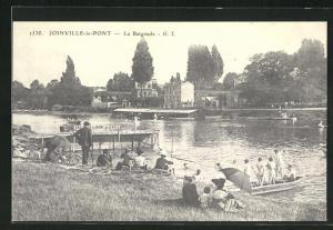 AK Joinville-le-Pont, La Baignade