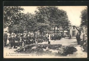 AK St-Maurice, Asile National des Convalescents, Jeux de Quilles