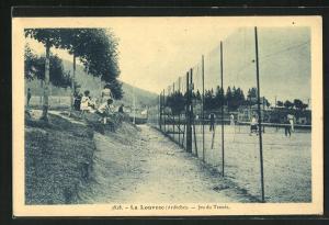 AK La Louvesc, Jeu du Tennis
