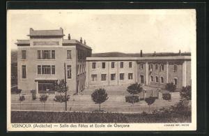 AK Vernoux, Salle des Fetes et Ecole de Garcons