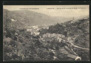 AK Lamastre, Entree de la Ville par la Route de Vernoux