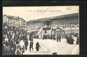 AK Angouleme, Les Halles Centrales