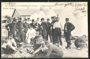 AK Camp de la Courtine, L`Approvisionnement