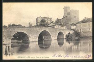 AK Bourdeilles, Le Pont et le Chateau
