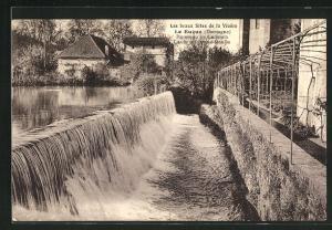 AK Le Bugue, Ruisseau de Ladouch, Caute du Grand-Moulin