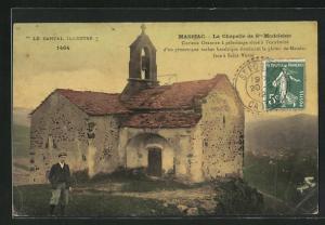 AK Massiac, La Chapelle de St. Madeleine