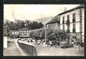 AK Saint Jean Pied de Port, La Place du Marche