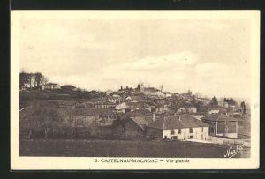 AK Castelnau-Magnoac, Panorama