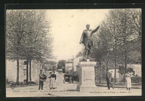 AK Wassy, Le Mobelot de chez Durenne, rue de la Gare