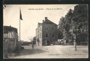 AK Gigny-aux-Bois, Place de la Mairie