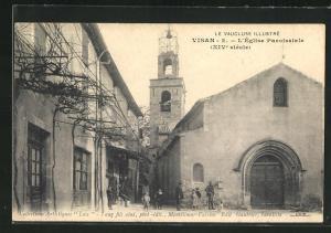 AK Visan, L`Eglise Paroissiale (XIVe siecle)