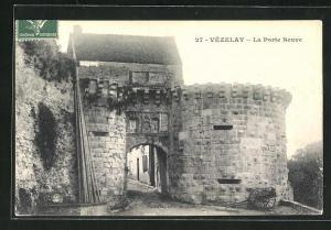 AK Vezelay, La Porte Neuve