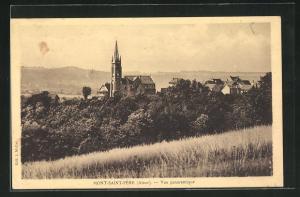 AK Mont-Saint-Pere, Vue panoramique