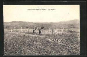 AK Puyravel, fouilles, Panorama