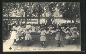 AK Vichy, Ba d`Enfants en Parc