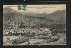 AK Embrun, Vue generale au fond, Cretes de Boussolene