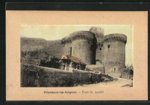 AK Villeneuve-les-Avignon, Fort St. Andre