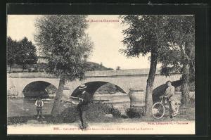 AK Valentine, Le Pont sur la Garonne