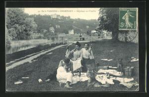 AK Varenne a Champigny, Dejeuner sur l`herbe