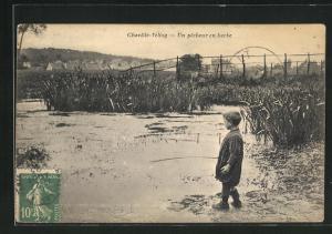 AK Chaville-Velizy, Un pecheur en herbe