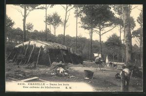 AK Chaville, Dans les bois, Une cabane de bucherons