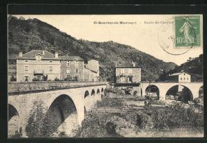 AK St-Sauveur-de-Montagut, Pont et Route du Cheylare