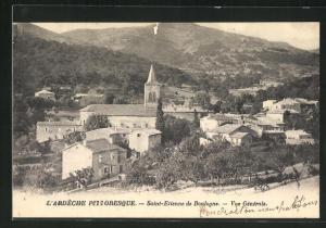 AK Saint-Etienne de Boulogne, Panorama