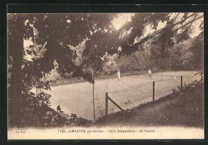 AK Lamastre, Parc Seignoblos. Le Tennis