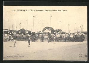 AK Auxerre, Fete d`Auxerre, Bal du Cirque des Fleurs