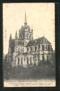 AK Braine, Eglise Saint-Yved (XII. et XIII. siecle)