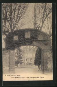 AK Marle, Le Chateau, La Porte