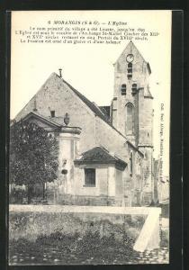AK Morangis, Vue sur l`Eglise