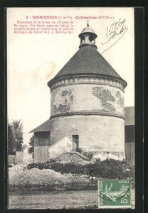 AK Morangis, Vue sur Colombier (XVIII. siecle)