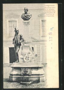 AK Longjumeau, Monument eleve a la memoire d`Adolphe Adam