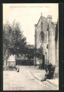 AK Grillon, Place de la Bourgade, L`Eglise