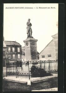AK Maubert-Fontaine, Le Monument aux Morts