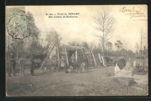 AK Foret de Senart, Une Cabane de Bucherons